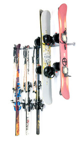 Monkey Bars Ski & Snowboard Storage Rack