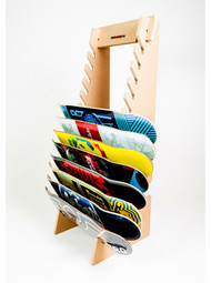 Pro Board Racks Deckhand Skateboard Storage Rack