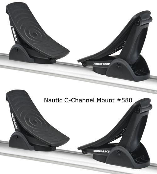 Rhino Rack Nautic Kayak Rack for Slotted  Crossbars