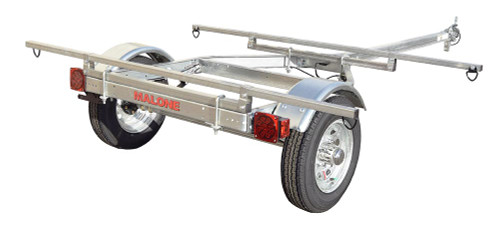 Malone MicroSport Low Bed 2 Boat Trailer