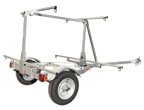 Malone MicroSport Low Bed 2 Boat Trailer w/ 2nd Tier