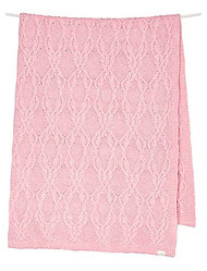 Organic Blanket Bowie Blush