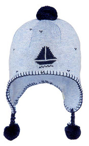 Organic Earmuff Storytime Nautical