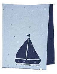 Organic Blanket Storytime Nautical