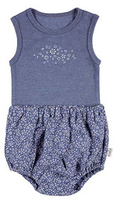 Baby Singlet & Bloomers Mae Bluebell