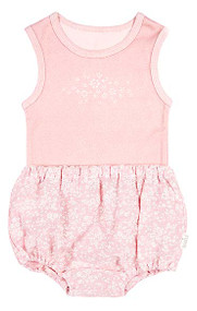 Baby Singlet & Bloomers Mae Blush