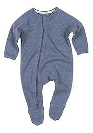 Organic Onesie Long Sleeve Dreamtime Moonlight