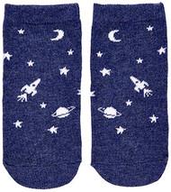 Organic Baby Socks Intergalactic