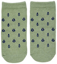 Organic Baby Socks Nautical