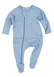 Organic Onesie Long Sleeve Dreamtime Tide