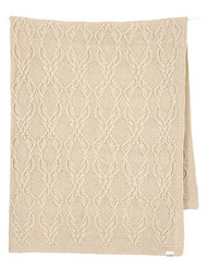 Organic Blanket Bowie Oatmeal