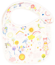 Baby Bib Happy