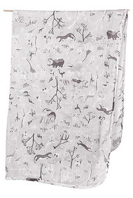 Wrap Muslin Animale