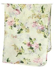 Wrap Muslin Floral Mint