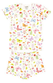 Pyjamas Short Sleeve Butterfly