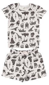 Pyjamas Short Sleeve Zoo