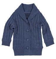 Organic Cardigan Marley Midnight