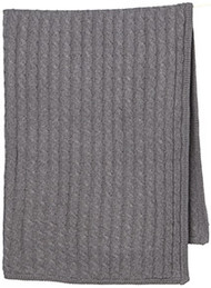 Organic Blanket Marley Charcoal