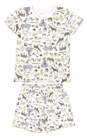 Pyjamas Short Sleeve Jungle