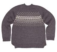 Organic Pullover Picco Graphite