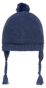 Organic Earmuff Brooklyn Navy