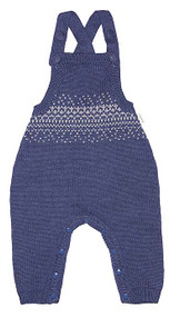 Organic Overalls Picco Navy