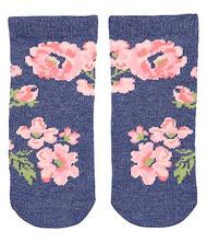 Organic Baby Socks Indigo