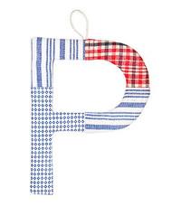 P Letter Amigo