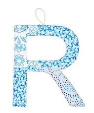 R Letter Dusk