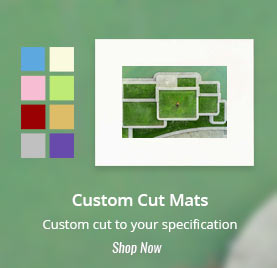 buy custom cut photo mats