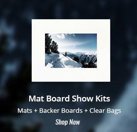 buy mat board show kits