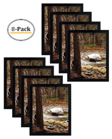 16x20 Frame for 16x20 Picture Black Wood (8 Pcs per Box)