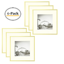 12x12 Frame for 8x8 Picture Gold Aluminum (6 Pcs per Box)