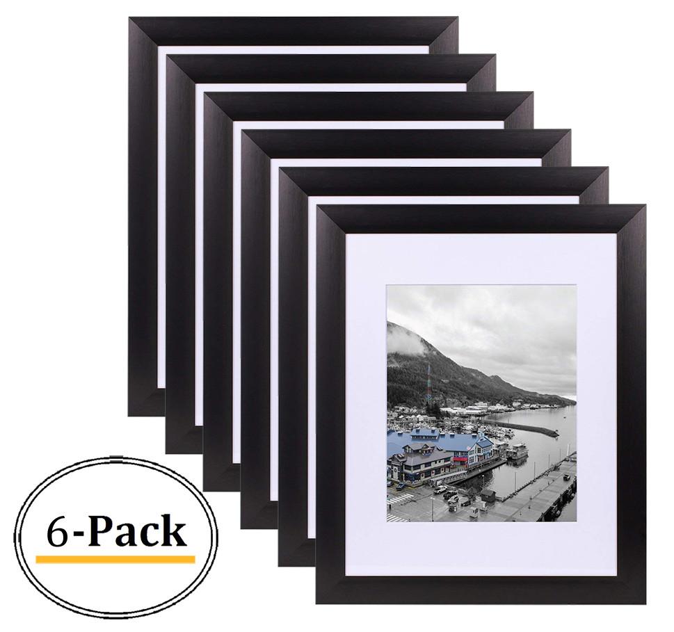 Black Color Satin Aluminum Landscape Or Portrait Photo