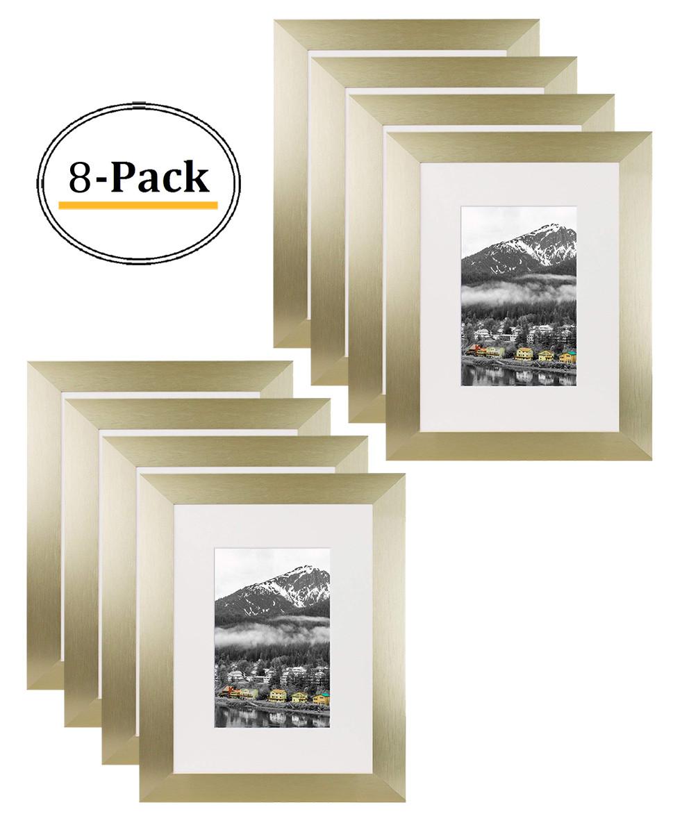 Gold Color Satin Aluminum Landscape Or Portrait Table Top
