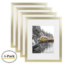 16x20 Frame for 11x14 Picture Gold Aluminum, Satin Finish (4 Pcs per Box)