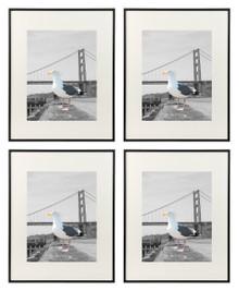 16x20 Frame for 11x14 Picture Black Satin Aluminum (4 Pcs per Box)