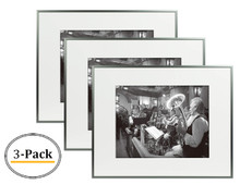 16x20 Frame for 11x14 Picture Dark Gray Aluminum (3 Pcs per Box)