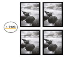 16x20 Frame for 16x20 Picture Black Wood (4 Pcs per Box)
