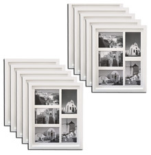 11x14 Frame for Five 4x6 Pictures White Wood (10 Pcs per Box)