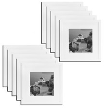 12x12 Frame for 8x8 Picture White Wood, Solid Smooth (10 Pcs per Box)