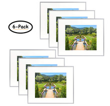 16x20 Frame for 11x14 Picture Silver Aluminum (6 Pcs per Box)