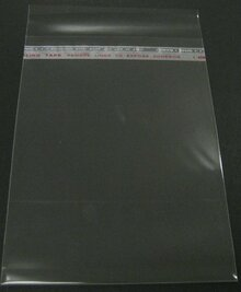 "100 Crystal Clear Bags For 11x14"" Mats: 11-3/8""x14-1/8"""