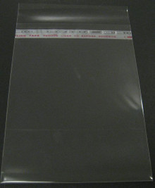 "100 Crystal Clear Bags For 5x7"" Mats: 5-1/4"" x 7-1/8"""