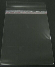 "100 Crystal Clear Bags For 20x24"" Mats: 20-3/8"" x 24-1/8"""