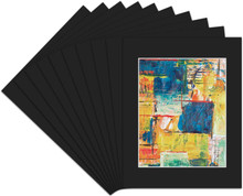 8x10 Whitecore Pre-Cut Mat Board - Pack of 50