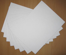 100 8x10 Uncut White Mat Boards