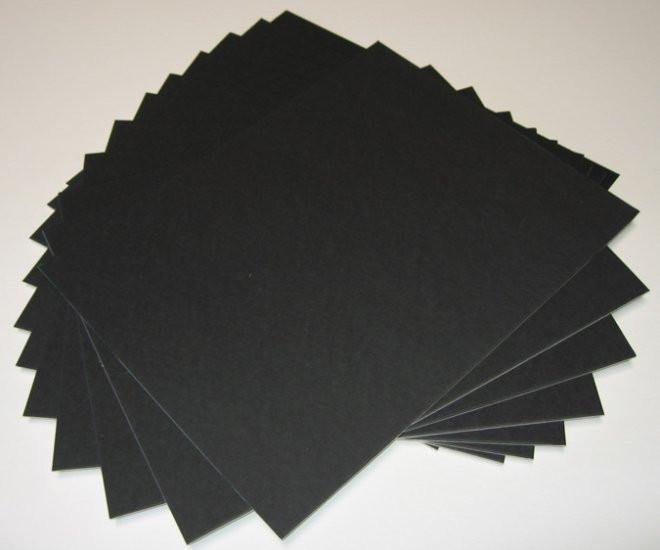 11x14 Uncut Black Matboards