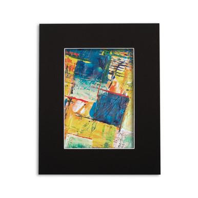 8x10 crescent photo mat board, custom or pre-cut