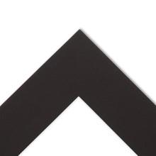 8.5x11 crescent photo mat board, custom or pre-cut